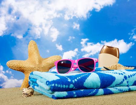 yazlık: Yaz tatili Stok Fotoğraf
