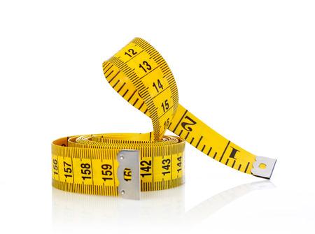 테이프를 측정