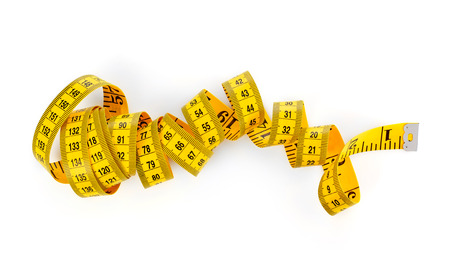 measure: Tape measure Stock Photo