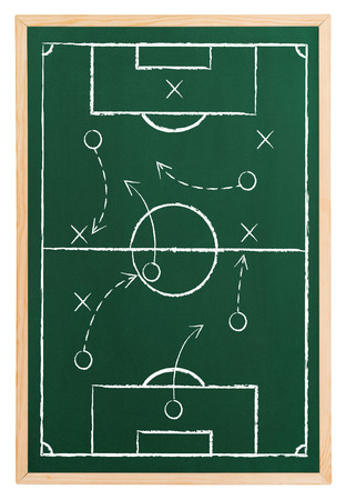 Soccer strategy Imagens