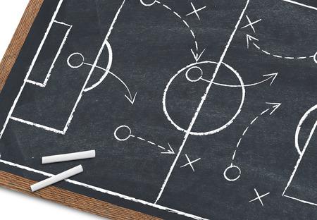 Soccer strategy Banco de Imagens