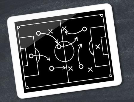 Soccer tactics Imagens