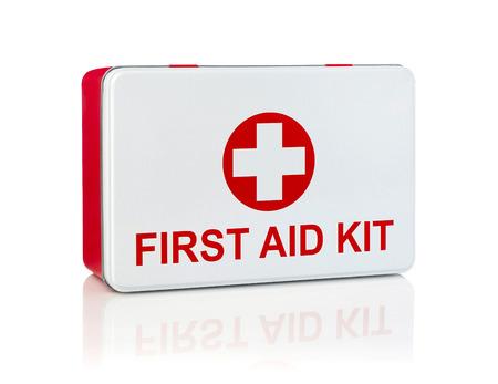 first aid kit: Botiqu�n de primeros auxilios