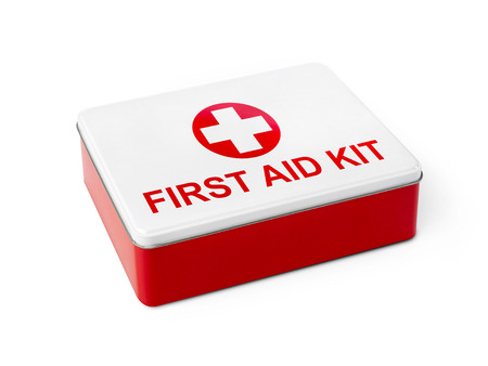 emergency kit: First aid box