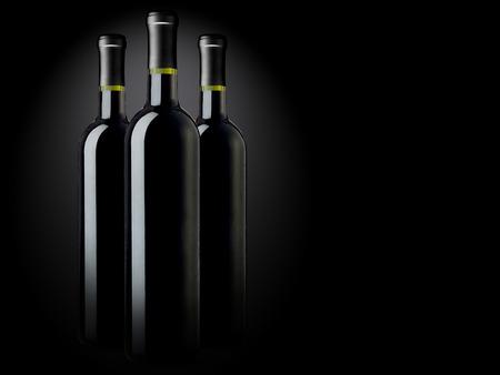 bouteille de vin: Bouteilles de vin