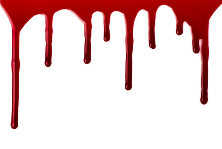 Blood pouring