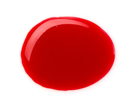 paint drop: Blood drop Stock Photo