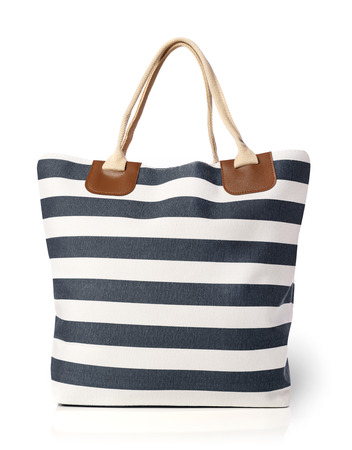 Beach bag isolated