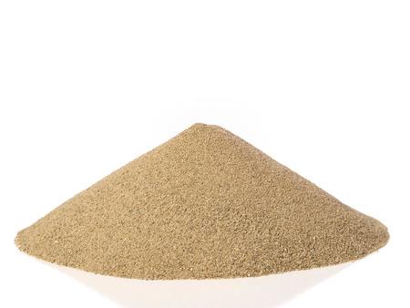 white sand: Pile of sand