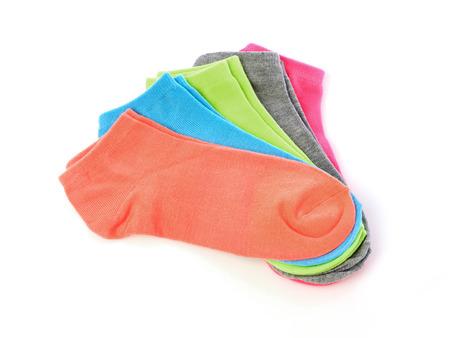 multicolored: Multicolored socks Stock Photo
