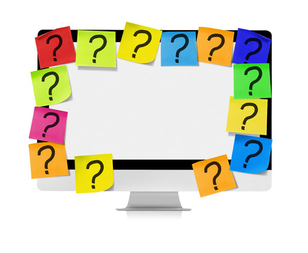 unanswered: Unanswered questions Stock Photo