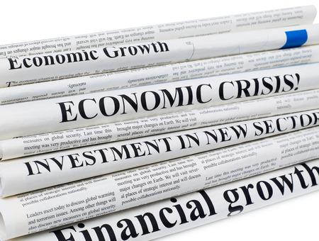 printed media: Newspapers headlines