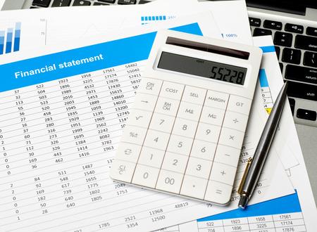 height chart: Financial statement