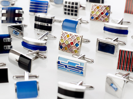 cuff links: Cuff links Stock Photo