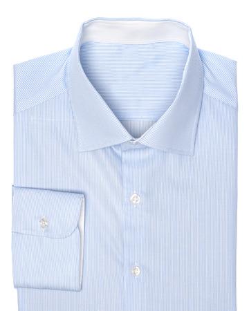 camisa: Camisa azul