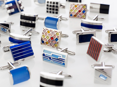 cuff: Cuff links Stock Photo