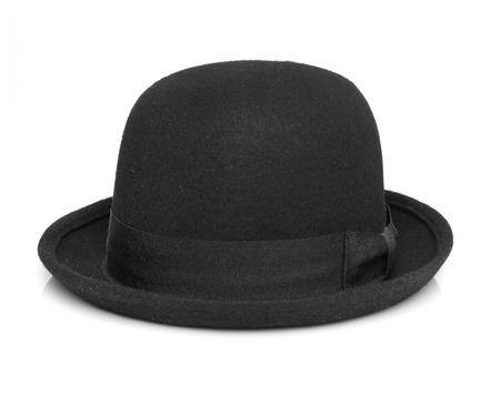 personal accessory: Black hat Stock Photo