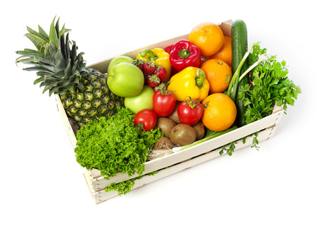 box: Fruits and vegetables