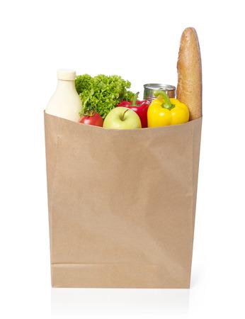 식료품 가방 스톡 콘텐츠