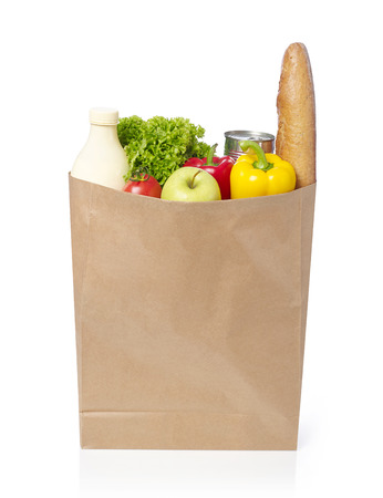 Groceries bag Stock fotó - 44230047