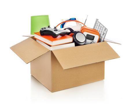 Moving box Standard-Bild