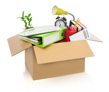 Moving office Standard-Bild