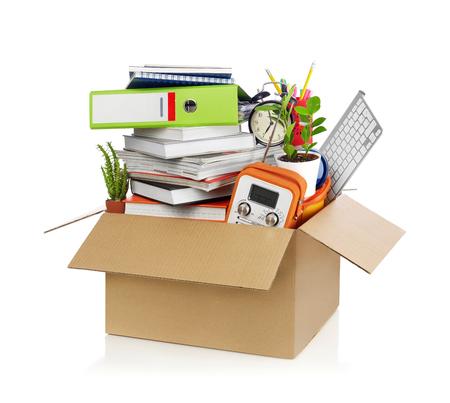 carrying box: Box full of stuff