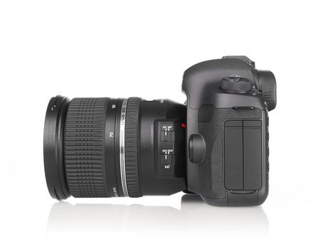 camera lens: Photo camera side view