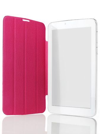 electronic organizer: Digital tablet with case