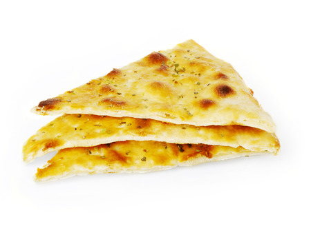 eating pastry: Focaccia