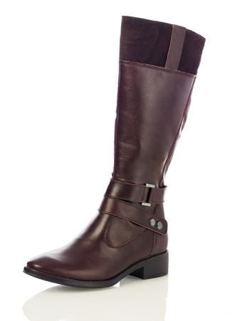 mujeres morenas: botas mujeres de Brown