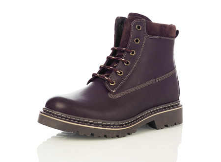black business men: Brown men boot Stock Photo
