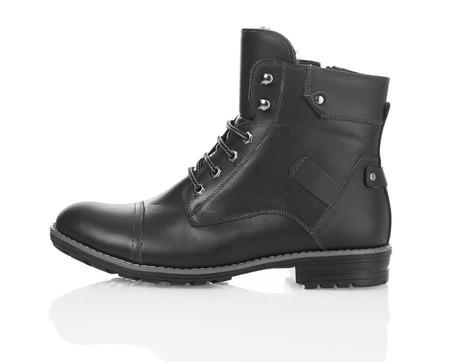 brogue: Black men boot