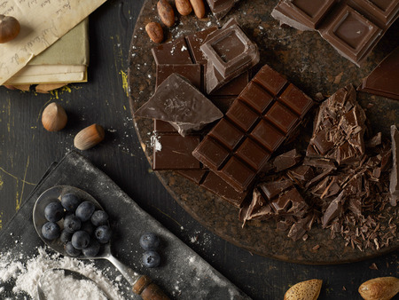 trencher: Rustic chocolate