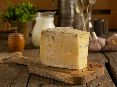 parmesan cheese: Homemade cheese