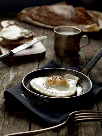 leche: Breakfast Foto de archivo