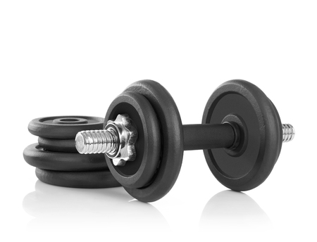 Weights: Weights Stock Photo