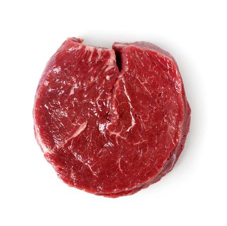 carne cruda: La carne de vacuno de carne