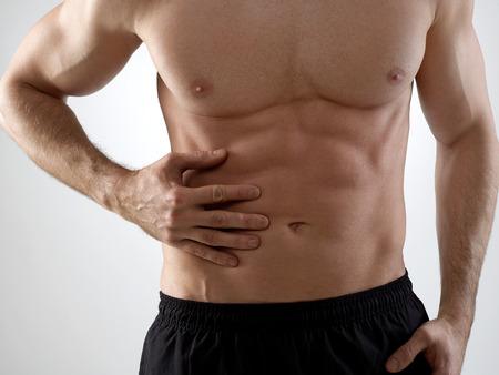 abdominal pain: Abdominal pain