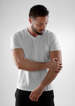 팔꿈치 통증 스톡 콘텐츠