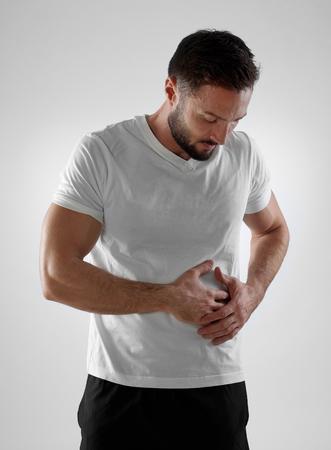 abdominal pain: Dolor abdominal
