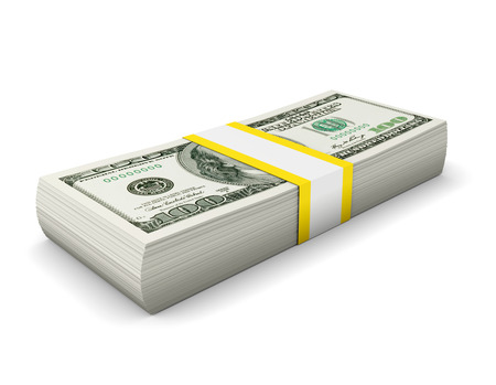 business loans: Dollars Stock Photo