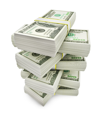 Stack of money Banque d'images