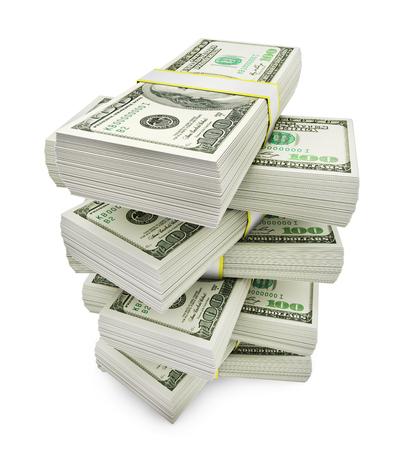 Stack of money Stock fotó