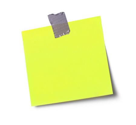 adhesive: Adhesive note