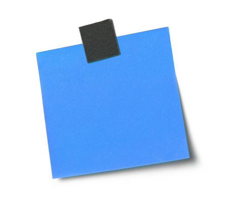 blank note: Blank adhesive note