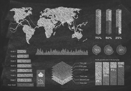 scrutiny: Diagram on blackboard