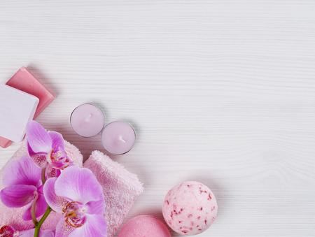 spa flower: Spa setting