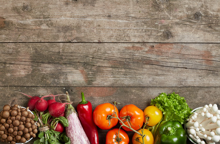 Legumbres y hortalizas frescas