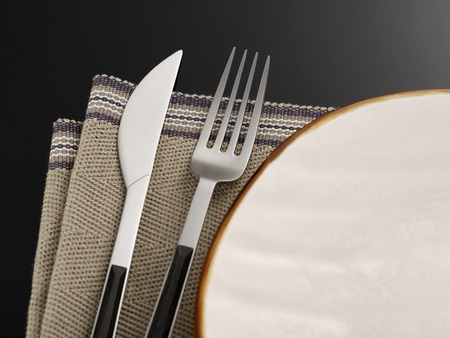 no food: Place setting Stock Photo